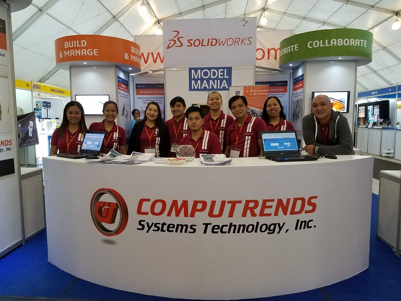 Computrends booth at PDMEX2017 Tradeshow