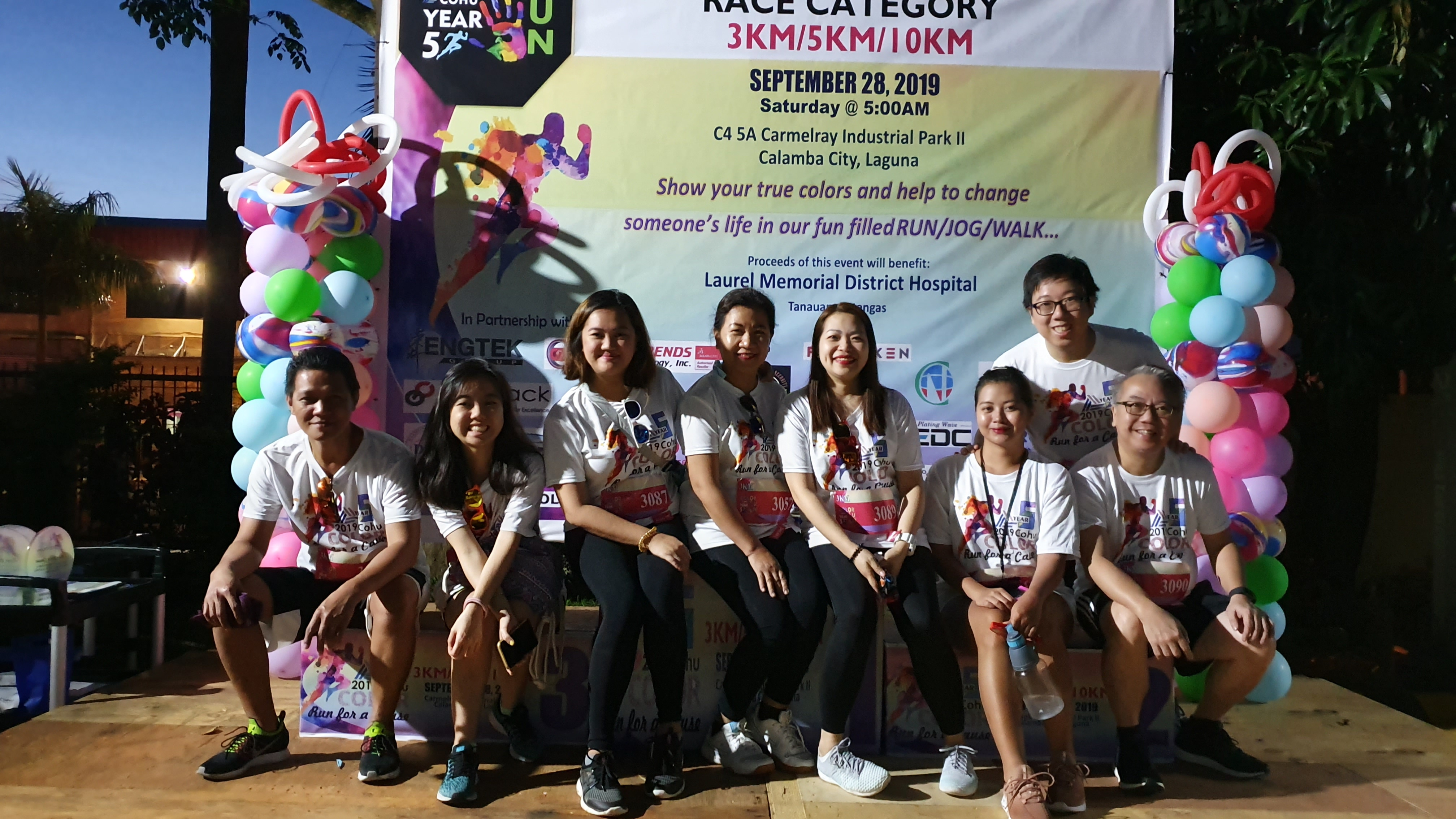 Computrends joined Cohu's Color Run for a Cause